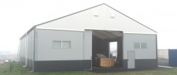 Best Value !!! Used hall 15x21x4.50m with roll-up door